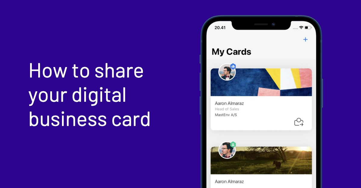 Sharing your Stinto card - thumbnail
